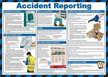 Accident Reporting Poster | Safety Services Direct