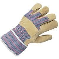 Keep Clean Canadian Rigger Style Pig Split Leather Glove