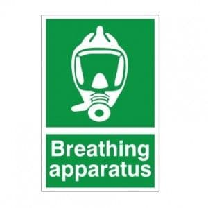 Breathing Apparatus - Health and Safety Sign (FA.15)