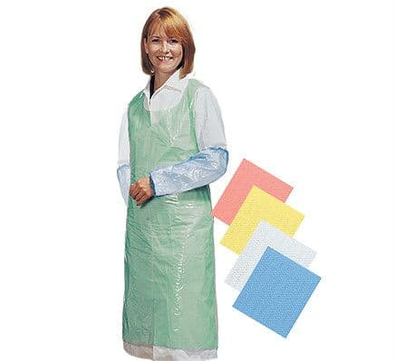 Cater Safe Disposable Bib Aprons - Red