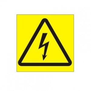 Warning Mains Supply (White Background) - Health and Safety Sign (WAE.17) - Just 90p! At Safety Services Direct we offer a comprehensive range of health and safety signs at some of the lowest prices online!