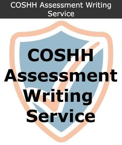 COSHH Assessment Writing Service