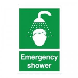 Emergency Shower - Health and Safety Sign (FA.05)