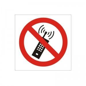 Turn Off Mobile Phones - Health and Safety Sign (PRG.43)