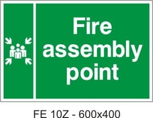 Fire Assembly Point - Fire Safety Sign (FE.10)