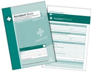 HEALTH AND SAFETY ACCIDENT BOOK - Accident Rport Book