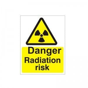 Danger Radiation Risk - Health and Safety Sign (WAG.27)