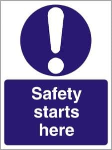 Mandatory Health & Safety Signs