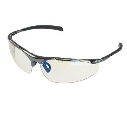 Bolle Contour Metal Safety Spectacles with Smoke Lens