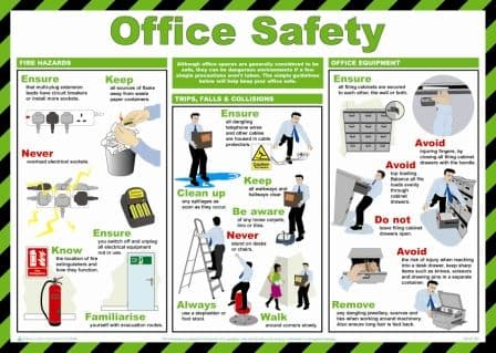Office Safety Poster | Safety Services Direct