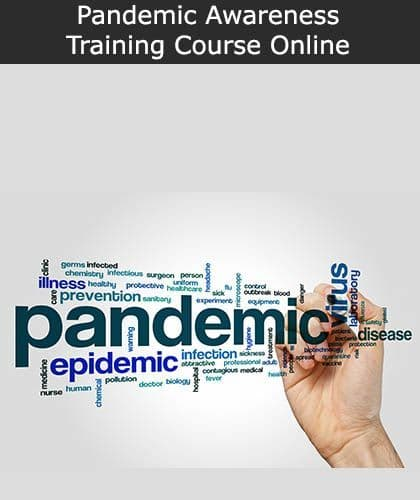 Pandemic Awareness Online ELearning Health and Safety Training Course