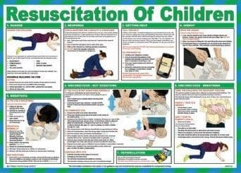 Resuscitation of Children Poster | Safety Services Direct