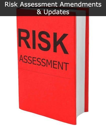 Risk Assessment Amendments & Updates | Safety Services Direct