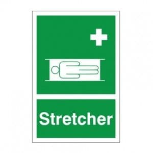 Stretcher - Health and Safety Sign (FA.14)