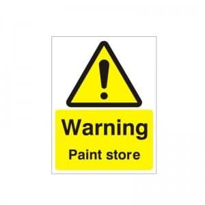 Warning Paint Store - Health and Safety Sign (WAG.103)