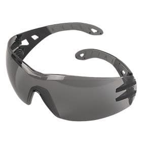 Uvex Pheos Safety Glasses Smoke