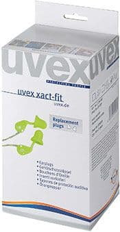 Uvex X-Act Fit Corded Ear Plugs (Box of 50)