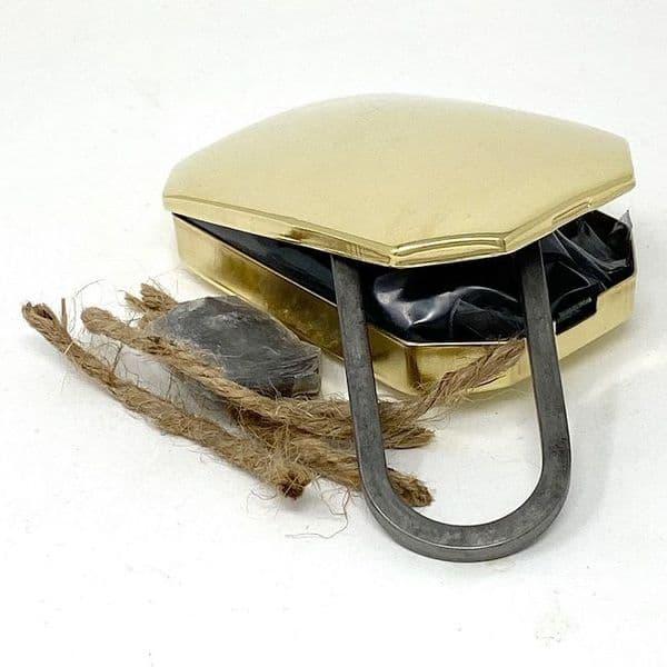 1700 Tinder Box  Flint & Steel Firelighting Kit