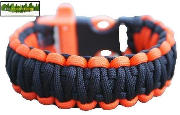 550 Paracord Bracelet - Double Stitch - Choice of Sizes & Colour Combos