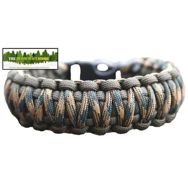 550 Paracord Bracelet Kit - Double Stitch - Large choice of colour combos