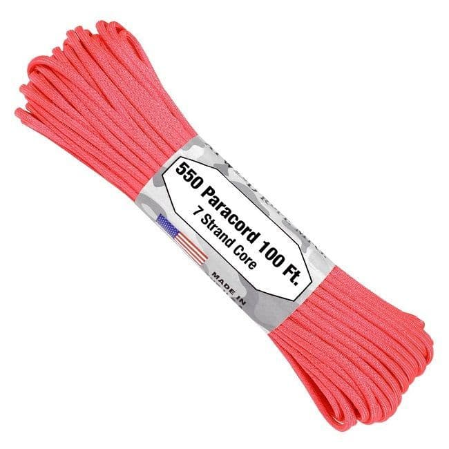 550 Paracord US Made GSA Compliant - Pink