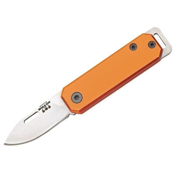 Bear & Son 109OR Small Slip Joint Folding Knife - Orange