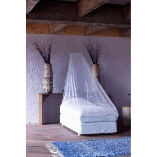 Care Plus Impregnated Wedge Shaped Mosquito Net - Ideal for Camping & the Outdoors