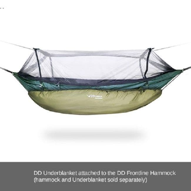 DD Hammocks Under Blanket