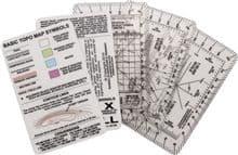 ESEE Izula Gear Navigation Cards - Including Roamers, Survival Tips & More.