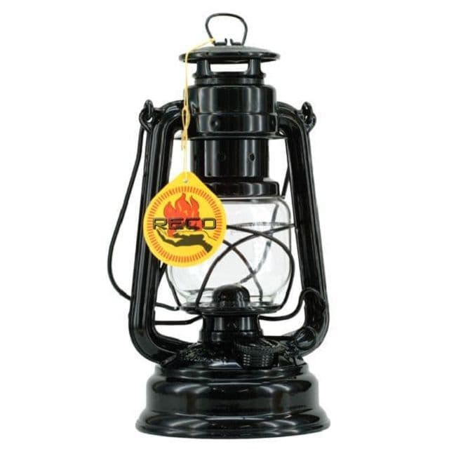 Feuerhand Storm Lantern - Black - The original German Lantern and the best.