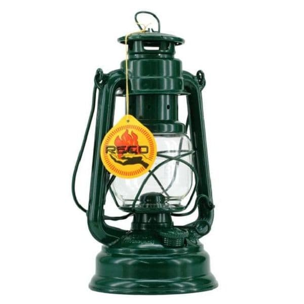 Feuerhand Storm Lantern - Green - The original German Lantern and the best.