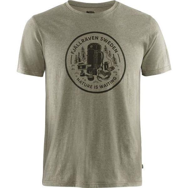 Fjallraven  Fikapaus T-Shirt - Light Olive