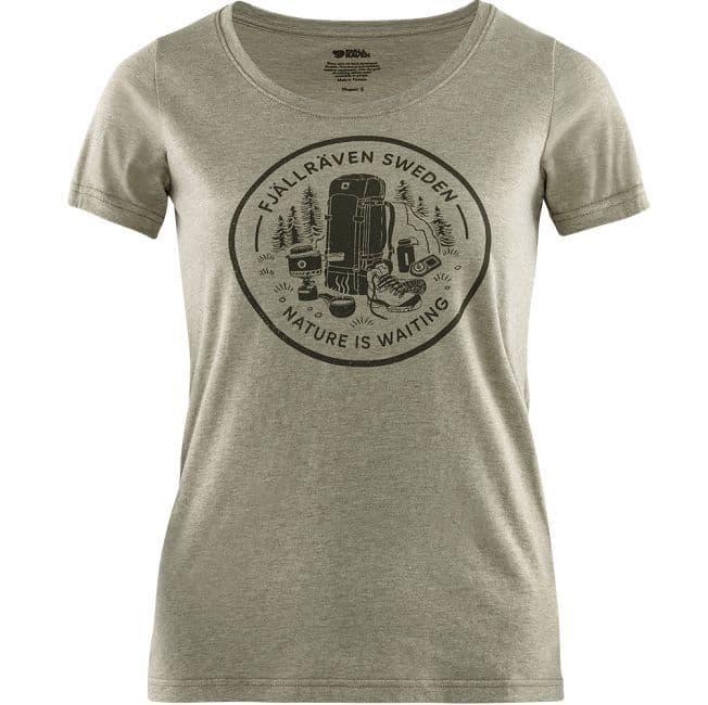 Fjallraven  Fikapaus T-Shirt W - Light Olive
