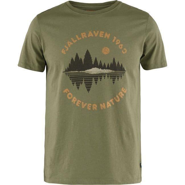 Fjallraven  Forest Mirror T-Shirt - Green