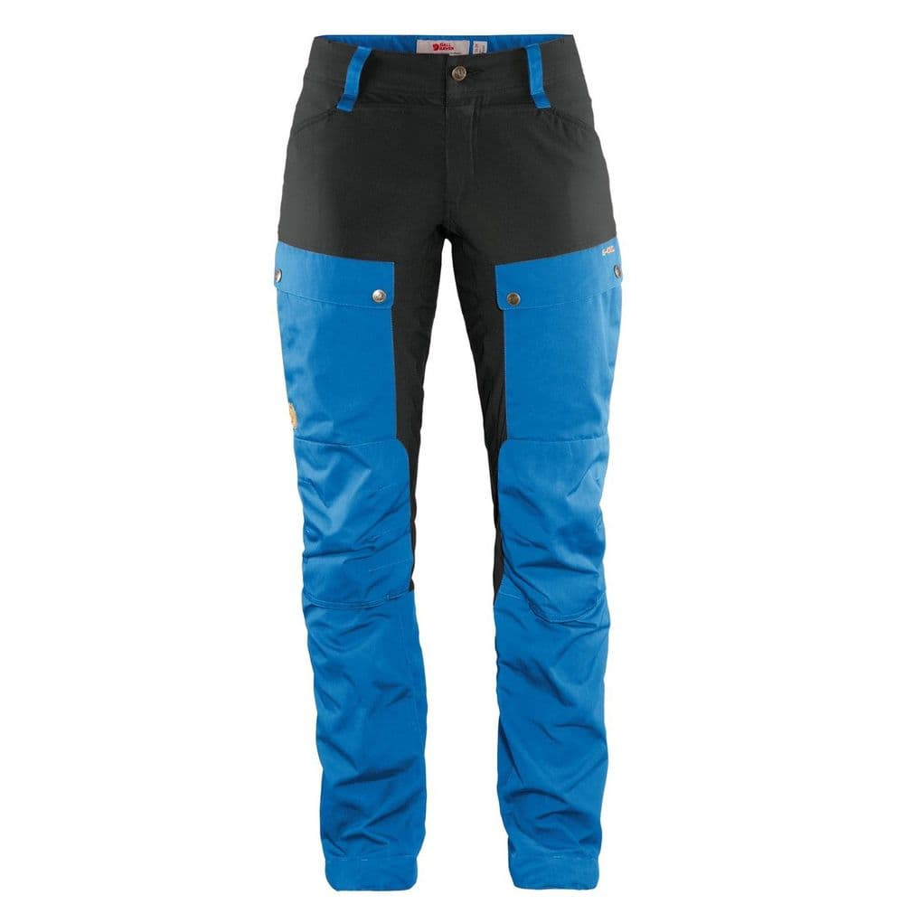 Fjallraven Keb Trousers  Curved W - UN Blue/Grey