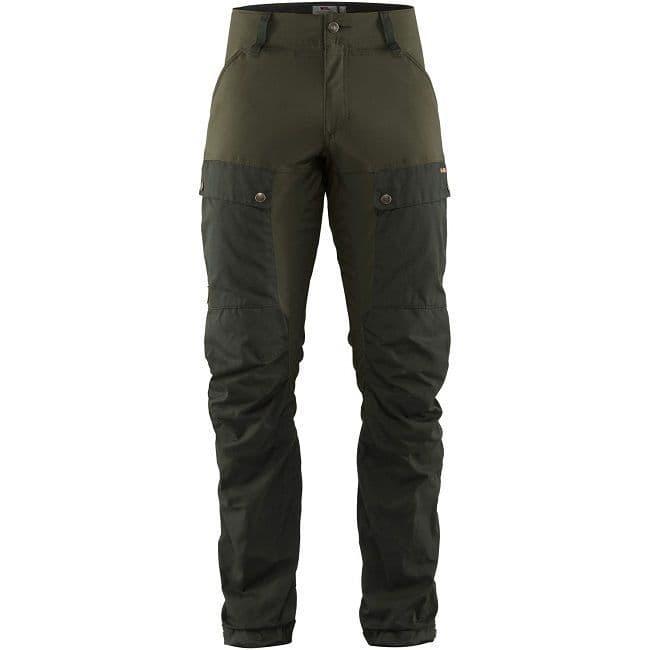 Fjallraven Keb Trousers - Deep Forest & Laurel Green - Regular