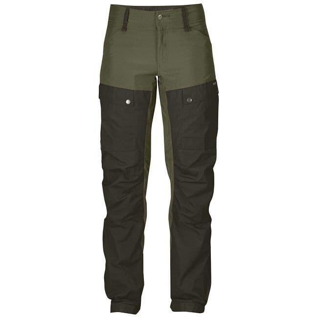 Fjallraven Keb Trousers  W - Deep Forest/Laurel Green