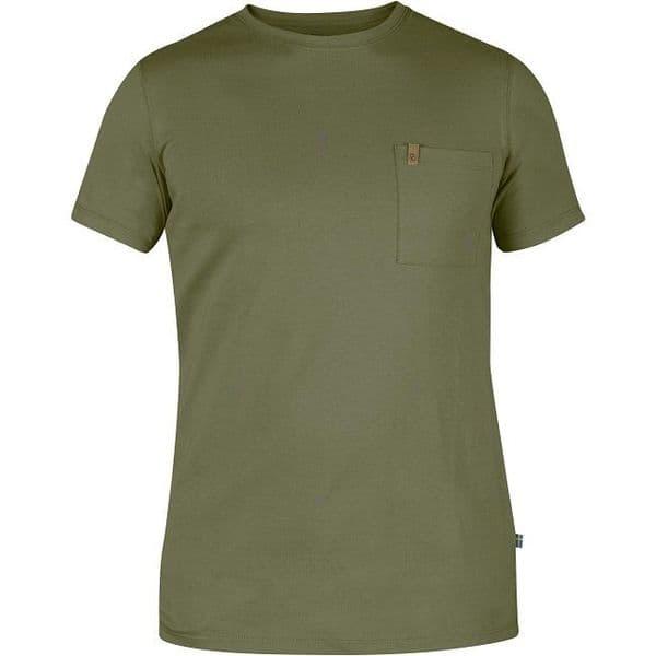 Fjallraven Ovik Pocket T-Shirt - Green