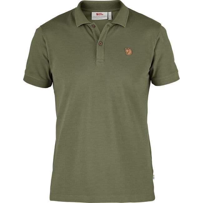 Fjallraven Ovik Polo Shirt - Green