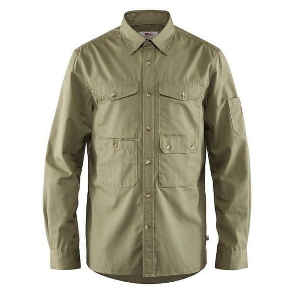 Fjallraven Ovik Shade Pocket Shirt - Green