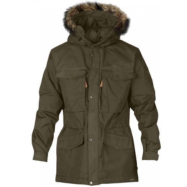 Fjallraven Singi Winter Jacket - Dark Olive