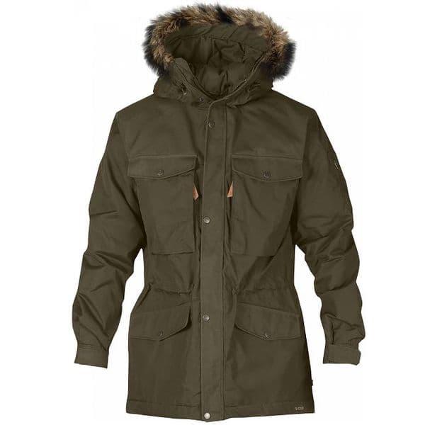 Fjallraven Singi Winter Jacket - Dark Olive