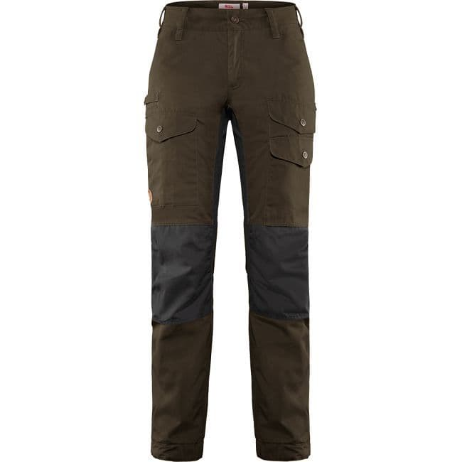Fjallraven Vidda Pro Ventilated Trousers  W - Dark Olive