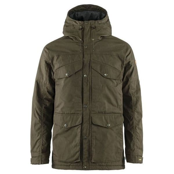 Fjallraven Vidda Pro  Wool Padded Jacket - Dark Olive
