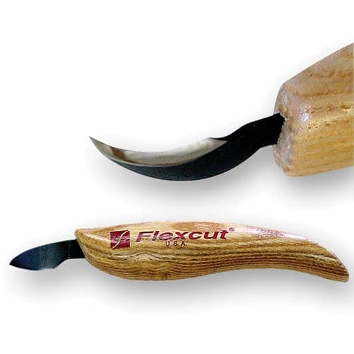 Flexcut Right Hand Hook Knife - Great carving tool for spoons or bowl's