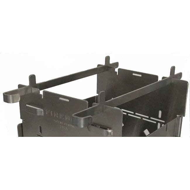 Folding Firebox Stove Highboy Fire Sticks (x2)