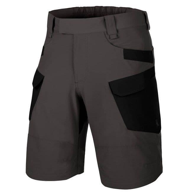 Helikon OTS Shorts - Versastretch Lite - Ash Grey/Black