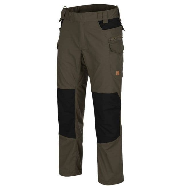 Helikon Pilgrim Trousers - Taiga Green/Black