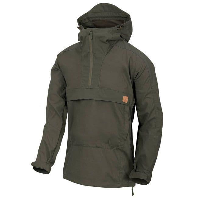 Helikon Woodsman Anorak Jacket - Taiga Green