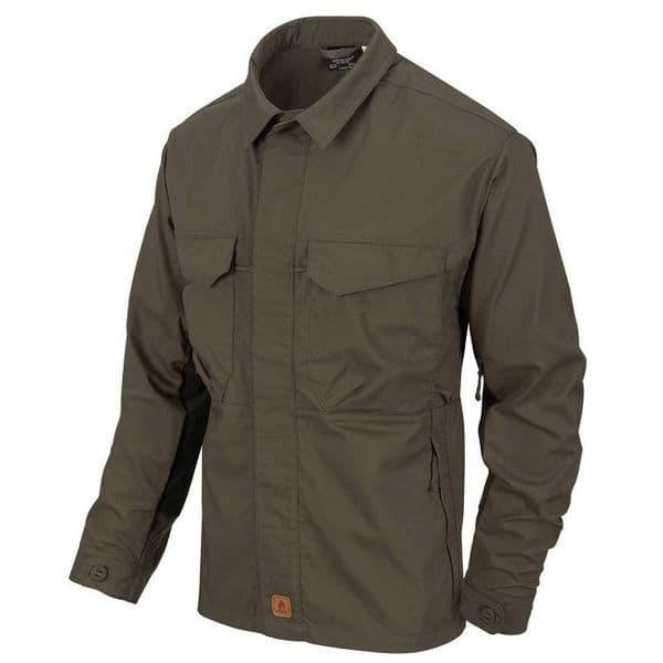 Helikon Woodsman Shirt - Taiga Green/Black